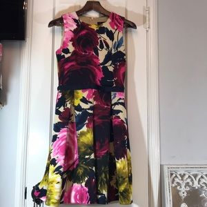 Just Taylor vibrant floral dress 4
